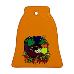 Healthy Vegetables Food Bell Ornament (two Sides)