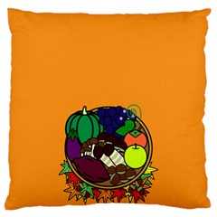 Healthy Vegetables Food Large Cushion Case (one Side)