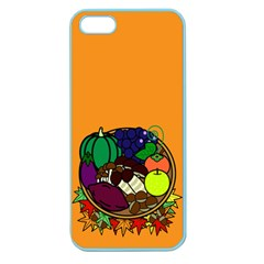 Healthy Vegetables Food Apple Seamless Iphone 5 Case (color)