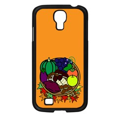 Healthy Vegetables Food Samsung Galaxy S4 I9500/ I9505 Case (black)
