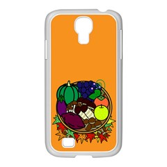 Healthy Vegetables Food Samsung Galaxy S4 I9500/ I9505 Case (white)