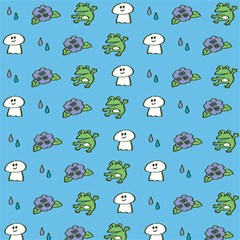 Frog Ghost Rain Flower Green Animals Magic Photo Cubes