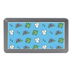 Frog Ghost Rain Flower Green Animals Memory Card Reader (mini)