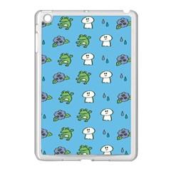 Frog Ghost Rain Flower Green Animals Apple Ipad Mini Case (white)