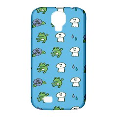Frog Ghost Rain Flower Green Animals Samsung Galaxy S4 Classic Hardshell Case (pc+silicone)