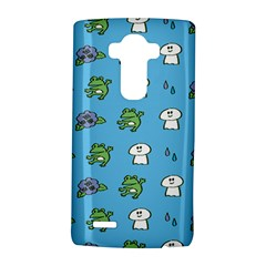 Frog Ghost Rain Flower Green Animals Lg G4 Hardshell Case