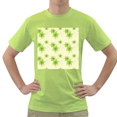 Leaf Green Star Beauty Green T Shirt