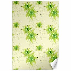 Leaf Green Star Beauty Canvas 20  X 30