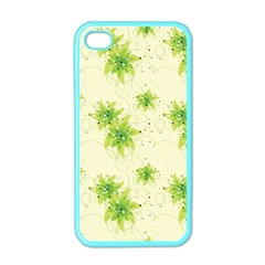 Leaf Green Star Beauty Apple Iphone 4 Case (color)