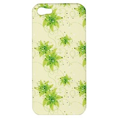 Leaf Green Star Beauty Apple Iphone 5 Hardshell Case