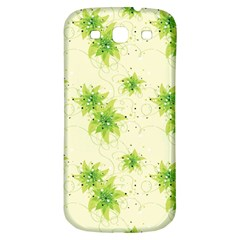 Leaf Green Star Beauty Samsung Galaxy S3 S Iii Classic Hardshell Back Case
