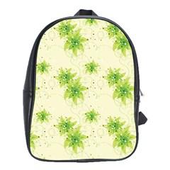 Leaf Green Star Beauty School Bag (xl)