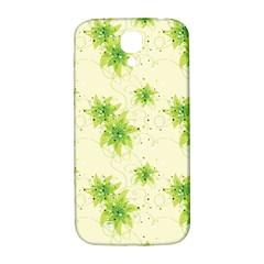 Leaf Green Star Beauty Samsung Galaxy S4 I9500/i9505  Hardshell Back Case