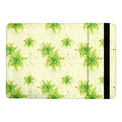 Leaf Green Star Beauty Samsung Galaxy Tab Pro 10 1  Flip Case