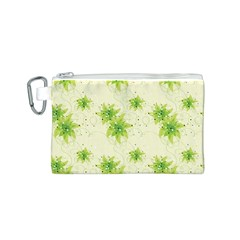 Leaf Green Star Beauty Canvas Cosmetic Bag (s)