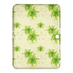 Leaf Green Star Beauty Samsung Galaxy Tab 4 (10 1 ) Hardshell Case