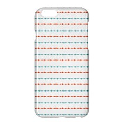 Line Polka Dots Blue Red Sexy Apple Iphone 6 Plus/6s Plus Hardshell Case