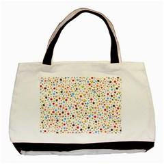 Flower Star Rose Sunflower Rainbow Smal Basic Tote Bag