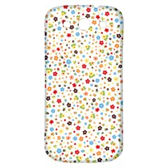 Flower Star Rose Sunflower Rainbow Smal Samsung Galaxy S3 S Iii Classic Hardshell Back Case