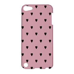 Love Black Pink Valentine Apple Ipod Touch 5 Hardshell Case
