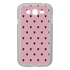 Love Black Pink Valentine Samsung Galaxy Grand Duos I9082 Case (white)
