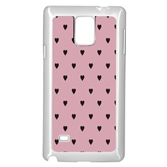 Love Black Pink Valentine Samsung Galaxy Note 4 Case (white)