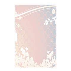 Love Heart Flower Purple Sexy Rose Shower Curtain 48  X 72  (small)