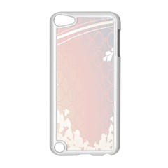 Love Heart Flower Purple Sexy Rose Apple Ipod Touch 5 Case (white)