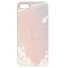 Love Heart Flower Purple Sexy Rose Apple Iphone 5 Hardshell Case With Stand