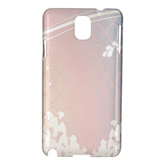 Love Heart Flower Purple Sexy Rose Samsung Galaxy Note 3 N9005 Hardshell Case