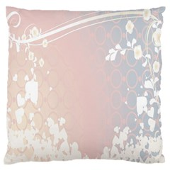 Love Heart Flower Purple Sexy Rose Standard Flano Cushion Case (two Sides)