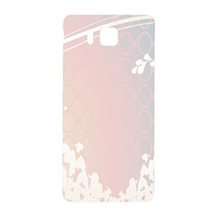 Love Heart Flower Purple Sexy Rose Samsung Galaxy Alpha Hardshell Back Case