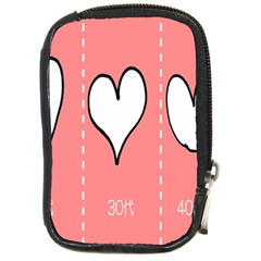 Love Heart Valentine Pink White Sexy Compact Camera Cases