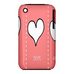 Love Heart Valentine Pink White Sexy Iphone 3s/3gs