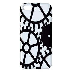 Machine Iron Maintenance Apple Iphone 5 Premium Hardshell Case