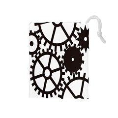 Machine Iron Maintenance Drawstring Pouches (medium)