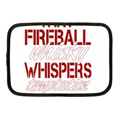 Fireball Whiskey Humor  Netbook Case (medium)