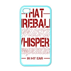 Fireball Whiskey Humor  Apple Iphone 4 Case (color)