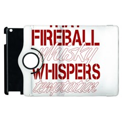 Fireball Whiskey Humor  Apple Ipad 2 Flip 360 Case