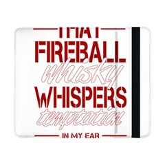 Fireball Whiskey Humor  Samsung Galaxy Tab Pro 8 4  Flip Case