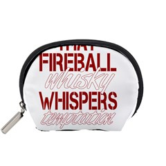 Fireball Whiskey Humor  Accessory Pouches (small)