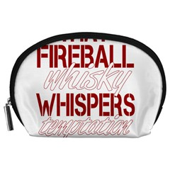 Fireball Whiskey Humor  Accessory Pouches (large)