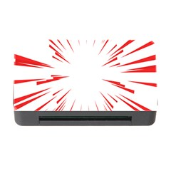 Line Red Sun Arrow Memory Card Reader With Cf