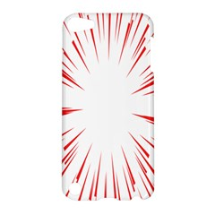 Line Red Sun Arrow Apple Ipod Touch 5 Hardshell Case