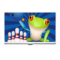 Tree Frog Bowling Business Card Holders