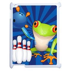 Tree Frog Bowling Apple Ipad 2 Case (white)