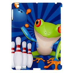 Tree Frog Bowling Apple Ipad 3/4 Hardshell Case (compatible With Smart Cover)