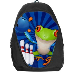 Tree Frog Bowling Backpack Bag