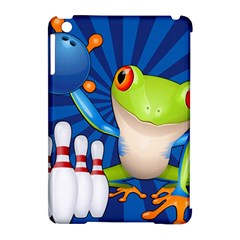 Tree Frog Bowling Apple Ipad Mini Hardshell Case (compatible With Smart Cover)
