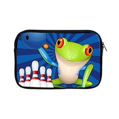 Tree Frog Bowling Apple Ipad Mini Zipper Cases